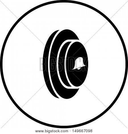 doorbell button symbol