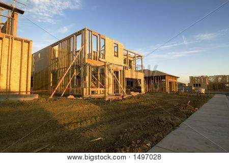 Construction House Framing