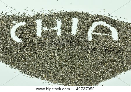 Chia seeds are tiny black seeds from the plant Salvia Hispanica, which is related to the mint. Chia seeds were an important food for the Aztecs and Mayans back in the day. They prized them for their ability to provide sustainable energy... in fact,