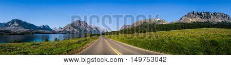 Many Glaciers National Park