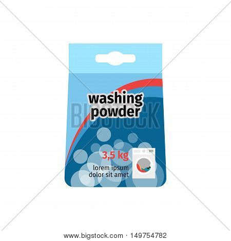 Washing powder - powdered synthetic detergent household chemistry
