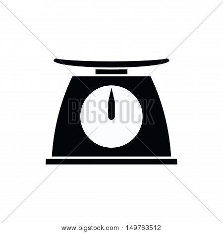 icon black analogue scales of vector ESP10