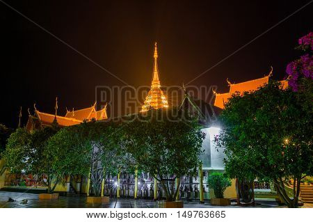 Wat Phra That Doi Suthep Temple,chiang mai,thailand.