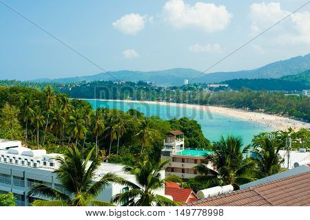One of the best beaches in Phuket, Thailand - Kata Beach