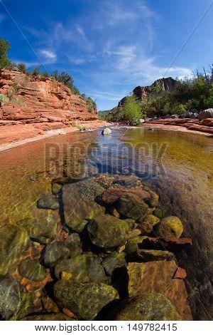 Silde Rock state park at Arizona USA near Sedona