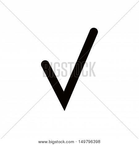 check icon stock vector illustration flat design