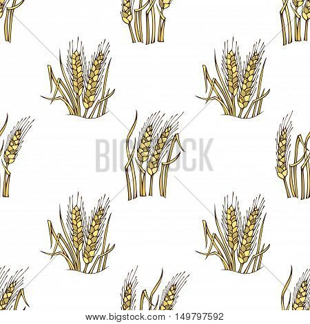 Thanksgiving day. Harvest time. Boundless background for your design.