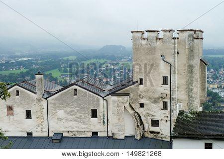 Hohensalzburg Castle In Salzburg, Austria