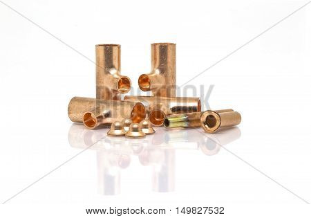 T-joint, Connection Pipe And Seal Bonnet Of Air-conditioner Or Refrigerant System