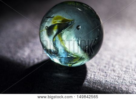 colorful glass marbles studio macro closeup high definition