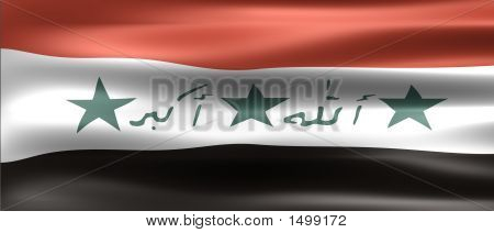 Iraq Flag - Symbol of a country poster