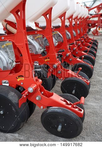 Farming machinery, seeder grain, the agricultural industry, equipment for cultivation