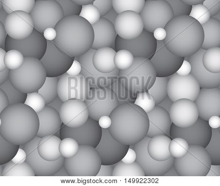 sience micro cells seamless pattern. Vector illustration.