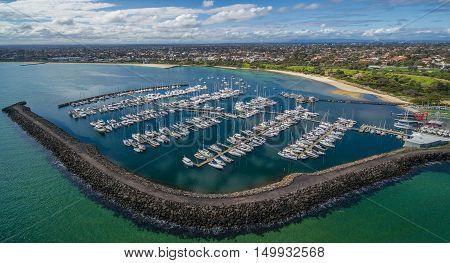 Aerial Image Of Sandringham Yacht Club