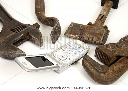 Tools And Telephone.