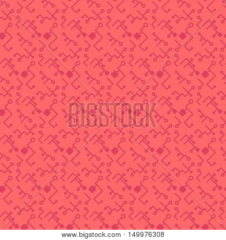 Computer Processor Chip Seamless Pattern
