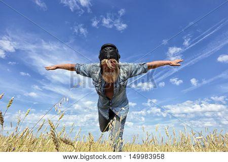 Aviator In The Field