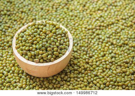 Mung Bean Seeds.