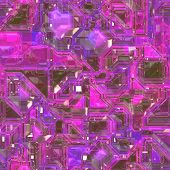Abstract high tech circuitry technology background wallpaper illustration poster