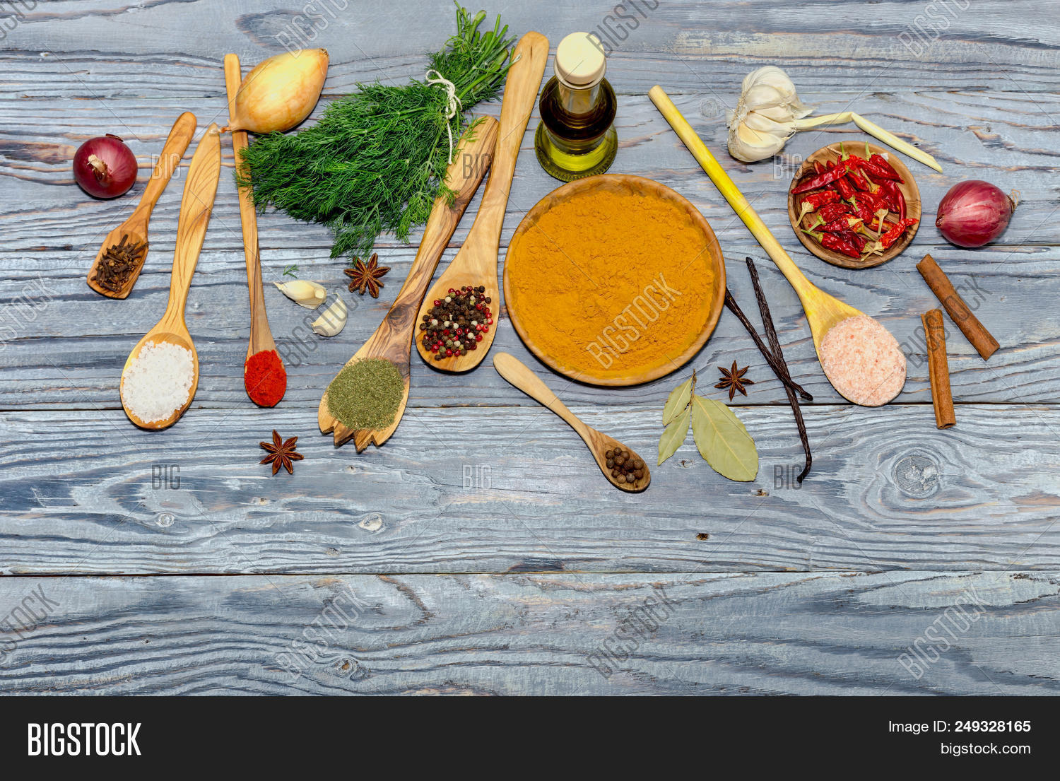 Variety Spices, Olive Image & Photo (Free Trial) | Bigstock