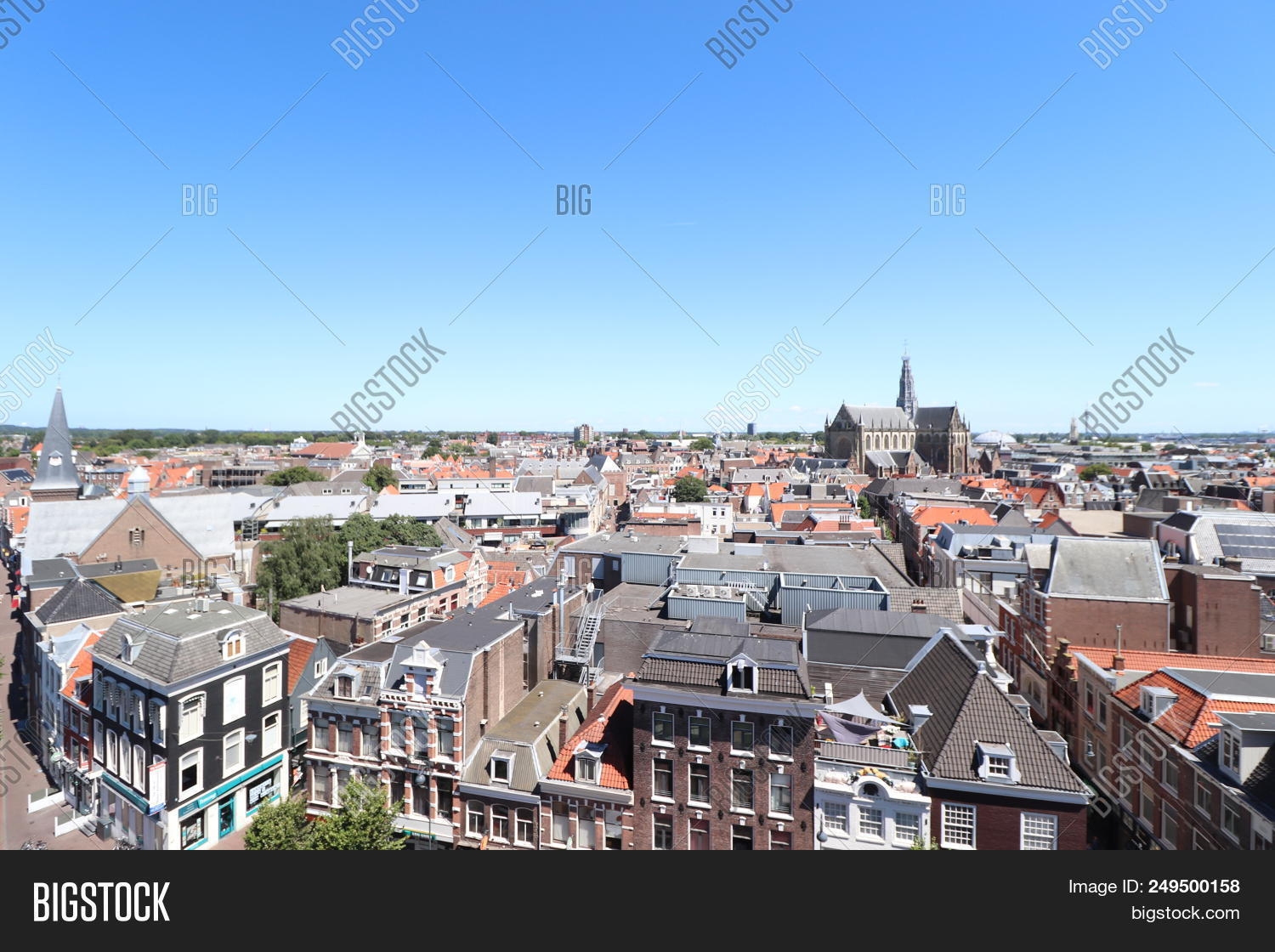 Haarlem, The Netherlands - July 8th 2018  City Overview Of Haarlem a8bac5cf61