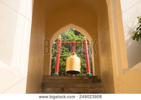 Bells In The Temple Buddhist Belief In Bells Make Good Luck.