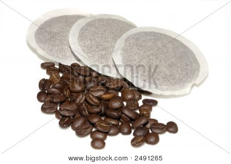 Coffee Pads And Beans