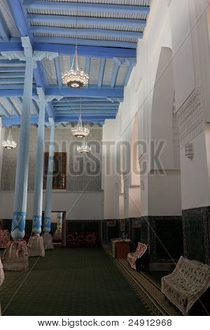 Inside Mosque In Madrasa Of Ulugh Beg