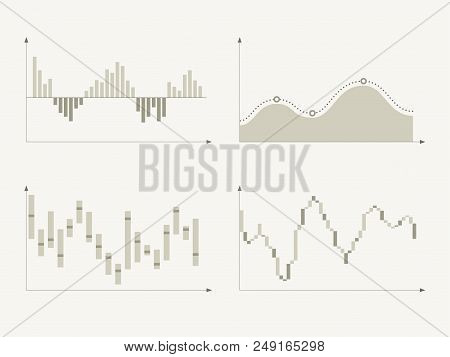 Business Charts And Graphs. Infographic Elements.