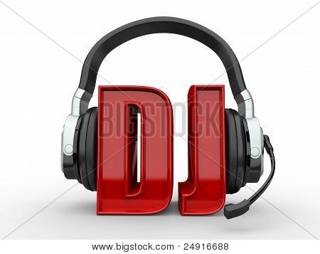 Text Dj And Handphones