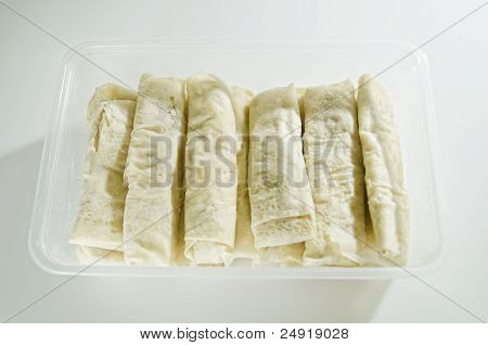 Bananas In Spring Roll