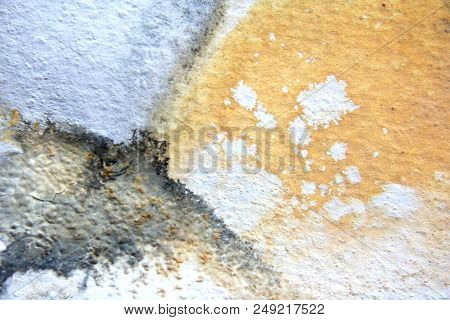 Black Yellow and Grey Watercolor Background