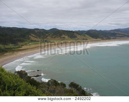 Waikawau Bay In New Zealand