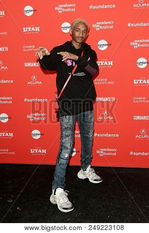 PARK CITY, UT - JAN 21: Actor Jaden Smith attends the premiere of