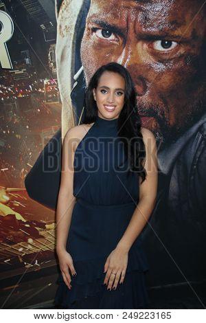 NEW YORK - JUN 10: Simone Garcia Johnson attends the premiere of