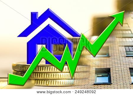 house, home, loan, credit, borrowing, mortgage, hypnotic, green, money, monies, cash, wherewithal, income, revenue, profit, proceeds, gain, benefit, coinage, rate, rates, price, cost, pricing, bank, banking, growth, development, up, increase, enhancement, poster