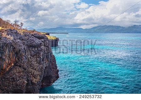 Nature Travel Landscape Ocean Cliffs Atlantic Explore The World Turquoise Water High Cliff Rock Vaca