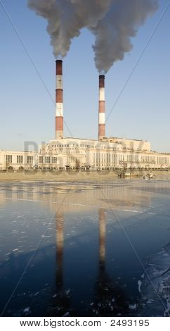 Coal Factory In Town