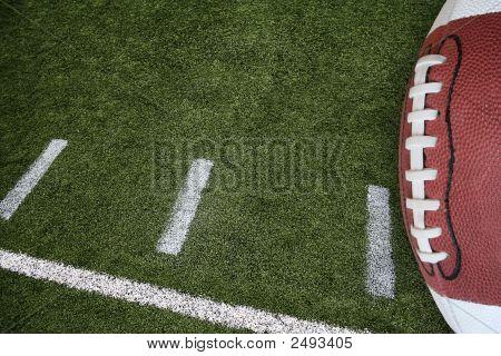 Fußball Feld Markierungen