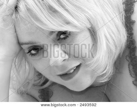 Blonde Waiting