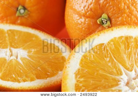 Two Each Whole And Half Oranges