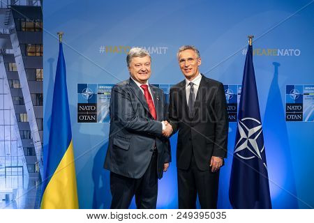 Nato Military Alliance Summit In Brussels