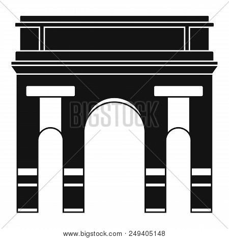 Historical Arch Icon. Simple Illustration Of Historical Arch Vector Icon For Web Design Isolated On