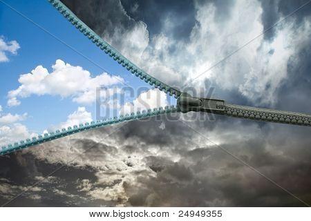 zipper for the sky