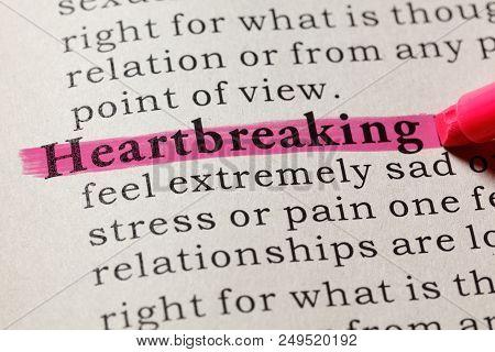 Definition Of Heartbreaking