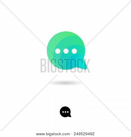 Chat Icon, Ui. Chat, Communication, Conversation, Conversation, Information Exchange Icon. Bubble Sy