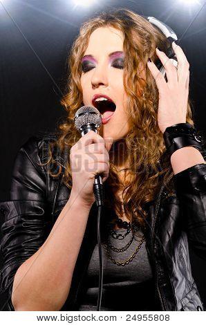 singing rock music