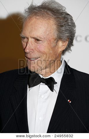 LOS ANGELES - NOV 5:  Clint Eastwood arrives at the LACMA Art + Film Gala at LA County Museum of Art on November 5, 2011 in Los Angeles, CA