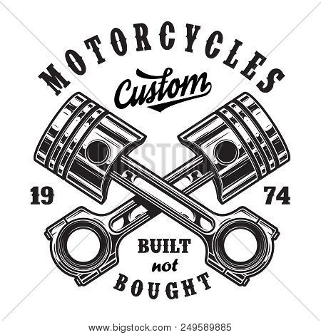 Vintage Motorcycle Vector Photo Free Trial Bigstock