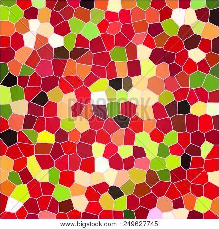 background of multicolored mosaic - digital  illustration